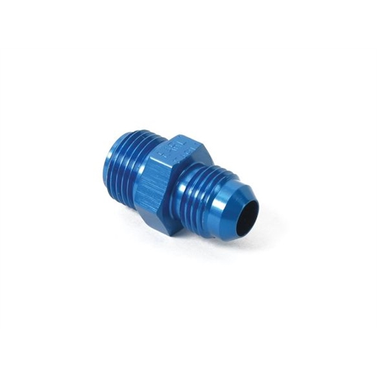 Earls 991947ERL -6 AN Male to 5/8-18 Inch Male Adapter, Blue