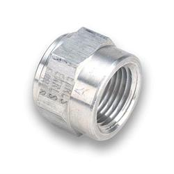 Earls 996702ERL 1/4 Inch Female Weld Fitting, Lightweight Aluminum
