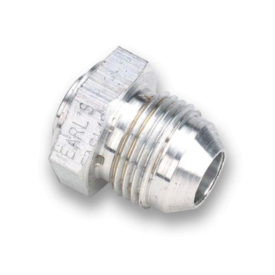 Earls 997124ERL -24 AN Male Weld Fitting, Lightweight Aluminum