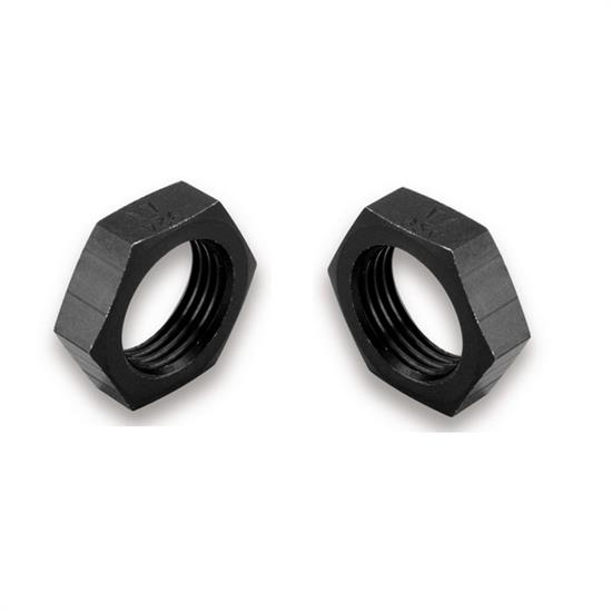 Earls AT592404ERL -4 AN Ano-Tuff Bulkhead Nut, Anodized Aluminum, Pair