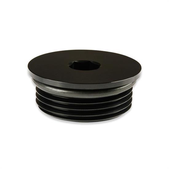 12AN 12AN AN12 Flare Plug Fitting With O Ring Seal Aluminum AN Plug Black