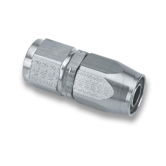 Earls UP300106ERL Straight -6 AN Female to -6 AN Hose Fitting
