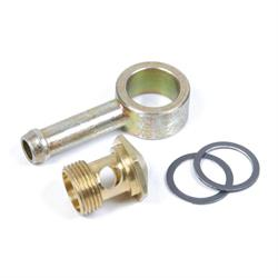 Holley 26-25 Banjo Swivel Fitting for 5/16 Hose, 9/16-24