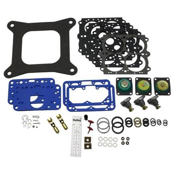 Holley 37-1544 4150 4 Barrel Carburetor Rebuild Fast Kit