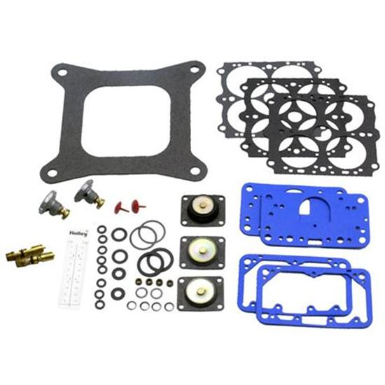 Holley 37-485 4150 4 Barrel Carburetor Rebuild Renew Kit