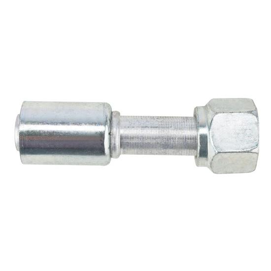 Crimp-On Heater Hose O-Ring Fitting, -10 AN