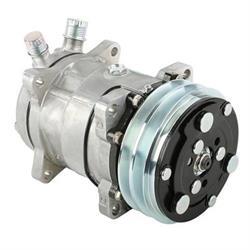 Speedway Sanden 508 V-Belt A/C Compressor, Plain