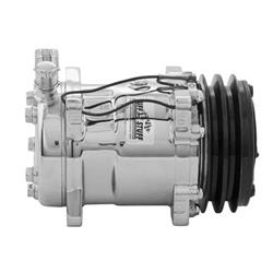 Tuff Stuff 4515NBDP Polished V-Belt AC Compressor