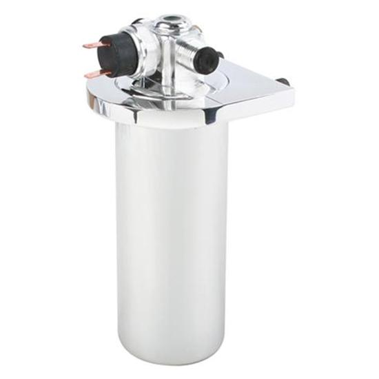 AC Drier with Safety Switch - Chrome Steel