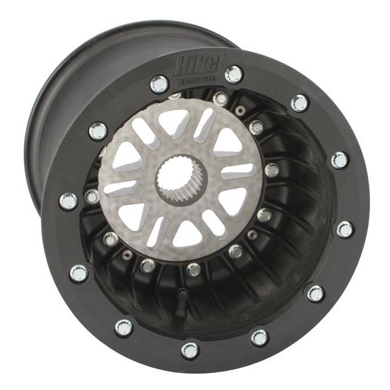 Garage Sale - HiPer Beadlock Right Rear Wheel w/ Center, 10 x 10 Inch, 5 Inch Offset