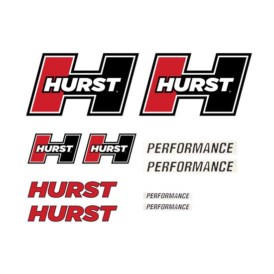 Hurst Shifters 1320000 Hurst Graphics Pack (Red)