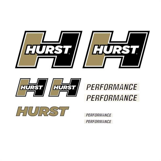 Hurst Shifters 1321000 Hurst Graphics Pack (Gold)