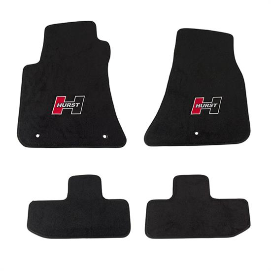 Hurst 6370010 Floor Mat Kit For 2008-2018 Challenger