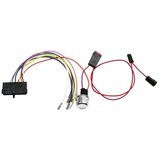 american autowire 35775 chevy steering column wiring harness adapter gm steering column ignition switch wiring nova steering column wiring harness