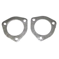 JBA PerFormance Exhaust 063-1202 3 bolt Collector Gaskets, 2-1/2 In