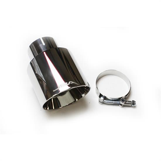JBA PerFormance Exhaust 12-08257 Double Wall Polished SS Chrome Tip