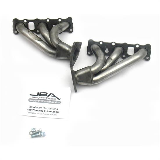 JBA PerFormance Exhaust 1410S Shorty Header, SS, 05-16 Nissan