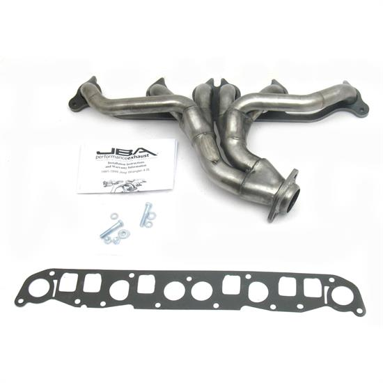 JBA PerFormance Exhaust 1526S Shorty Header, SS, 91-99 Jeep