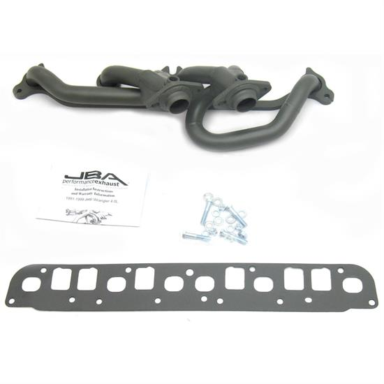 JBA 1527SJT Shorty Header, SS, 00-06 Wrangler, TC