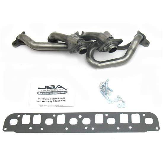 JBA PerFormance Exhaust 1527S Shorty Header, SS, 00-06 Wrangler