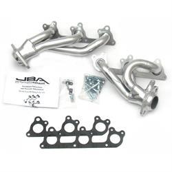 JBA PerFormance Exhaust 1617SJS Shorty Header SS, 05-10 Mustang V6, SC