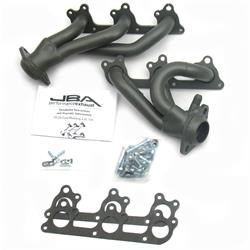 JBA PerFormance Exhaust 1617SJT Shorty Header SS, 05-10 Mustang V6, TC