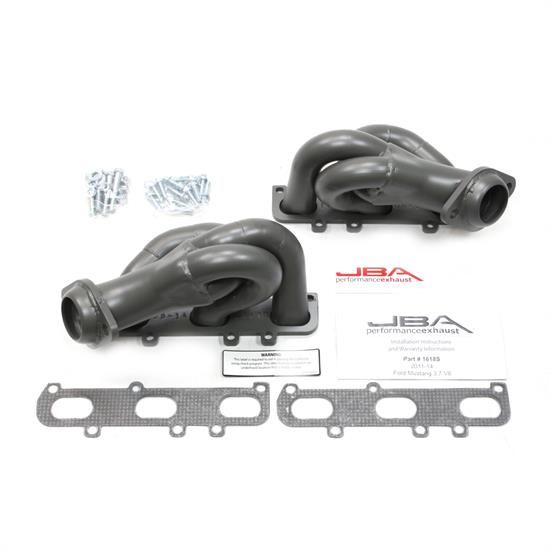 JBA PerFormance Exhaust 1618SJT Shorty Header, SS, 11-14 Mustang 3.7L