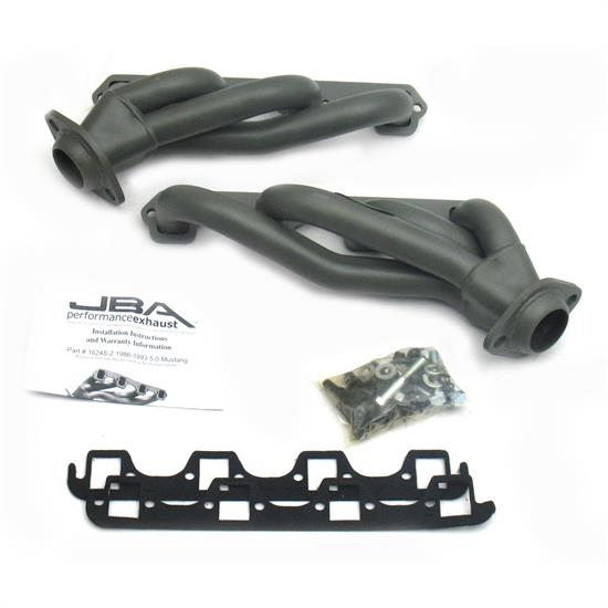 JBA 1624S-2JT Shorty Header, SS 86-93 Mustang 5.0L
