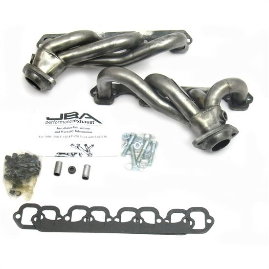 JBA PerFormance Exhaust 1627S-1 Shorty Header, 86-96 Ford Truck 5.0L
