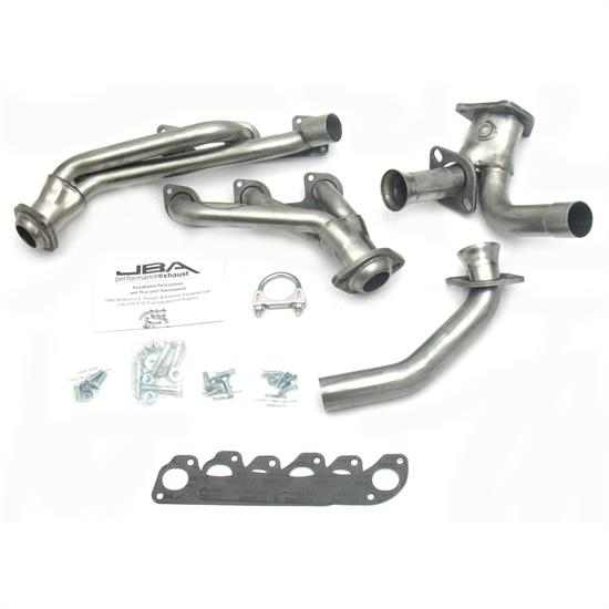 JBA PerFormance Exhaust 1632S-1 Shorty Header, 88-90 Ranger/Bronco II
