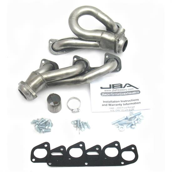 JBA 1634S-3 Shorty Header, 98-00 Ranger/Explorer