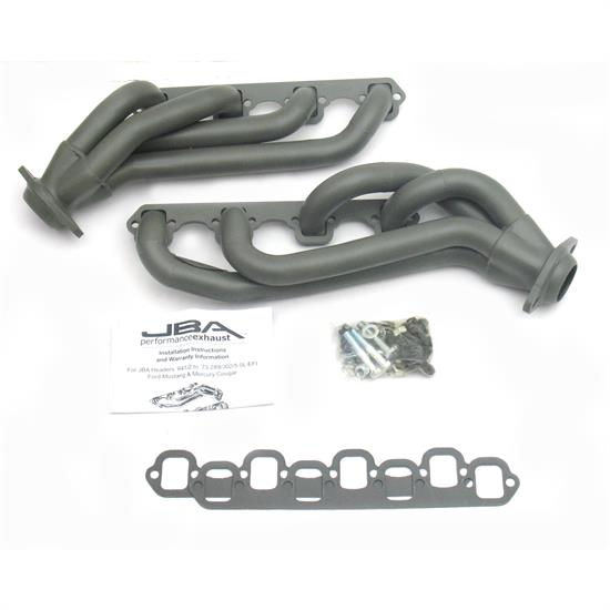 JBA PerFormance Exhaust 1650S-2JT Shorty Header, 65-73 Mustang 289/302