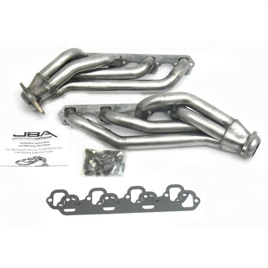 JBA 1650S Shorty Header, SS, 65-73 Mustang 289/302