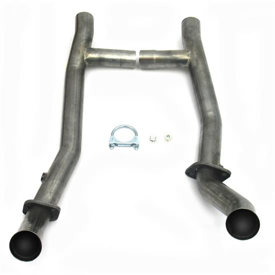 JBA PerFormance Exhaust 1651SH Stainless Steel Mid-Pipe H-Pipe, T-5