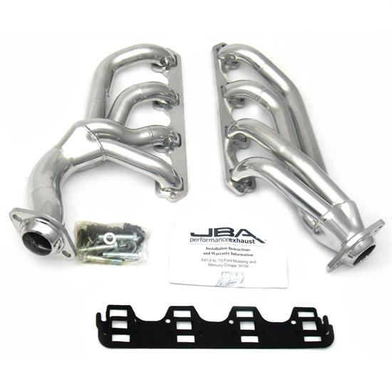 JBA PerFormance Exhaust 1655SJS Shorty Header, SS, 65-73 Mustang 351W