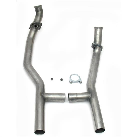 JBA PerFormance Exhaust 1657SH Stainless Steel Mid-Pipe H-Pipe, AOD