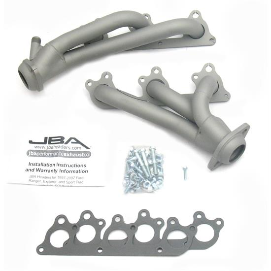 JBA 1674SJT Shorty Header, 00-11 Ranger/Explorer