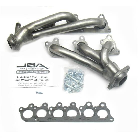 JBA PerFormance Exhaust 1674S Shorty Header, SS, 00-11 Ranger/Explorer