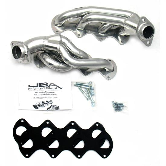 JBA PerFormance Exhaust 1676SJS Shorty Header, SS, 04-10 Ford F150