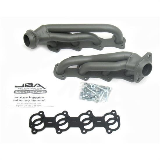 JBA PerFormance Exhaust 1678SJT Shorty Header, SS, 02-05 Explorer 4.6L