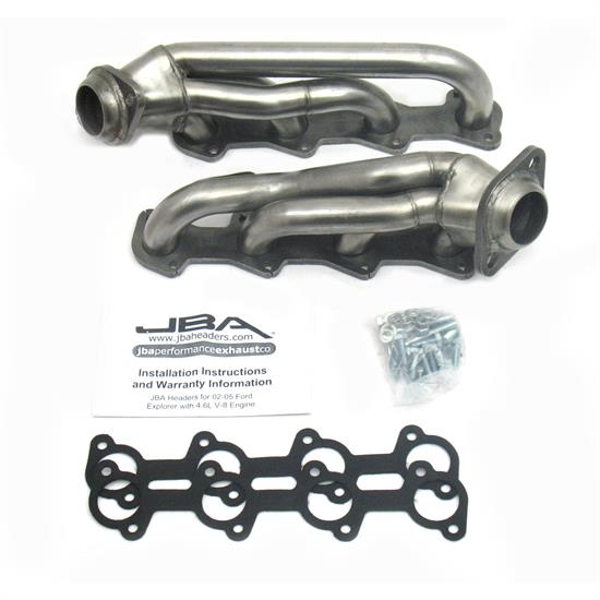 JBA PerFormance Exhaust 1678S Shorty Header, SS, 02-05 Explorer 4.6L