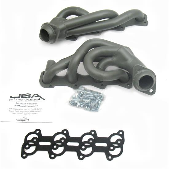 JBA PerFormance Exhaust 1679S-1JT Shorty Header, SS 99-04 Excursion/SD