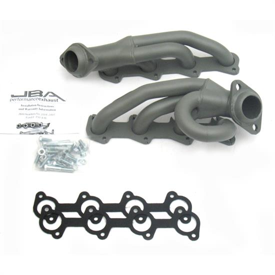 JBA PerFormance Exhaust 1687SJT Shorty Header, 04-08 Ford F-150, TC