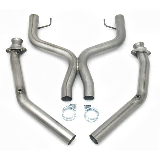 JBA PerFormance Exhaust 1775SX Mid-Pipe, 05-2010 Mustang GT, 2.50 In