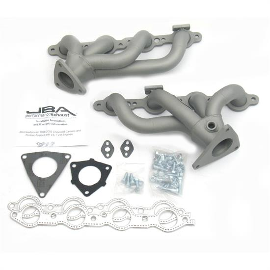 JBA PerFormance Exhaust 1808S-1JT Shorty Header, SS, 01-02 Camaro/FB