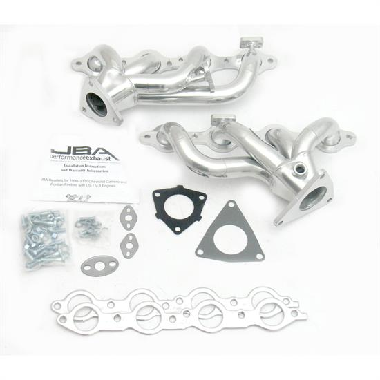 JBA PerFormance Exhaust 1808SJS Shorty Header, SS, 2000 Camaro/FB, SC