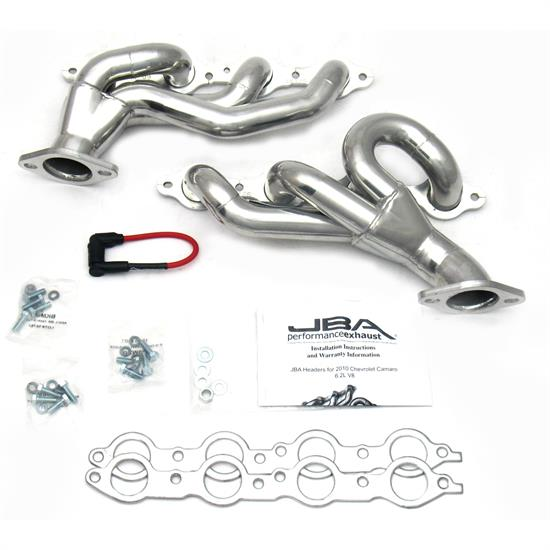 JBA 1812SJS Shorty Header, 2010-15 Chevy Camaro SS