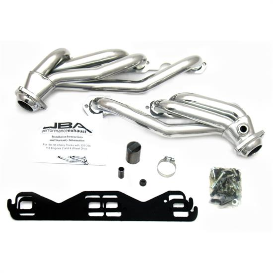 JBA 1830SJS Shorty Header 88-95 GM Truck 5.0L/5.7L