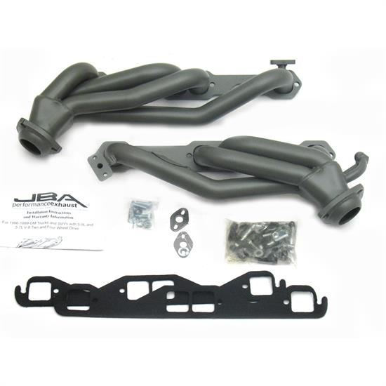 JBA PerFormance Exhaust 1832S-2JT Shorty Header, SS, 98-00 GM Truck