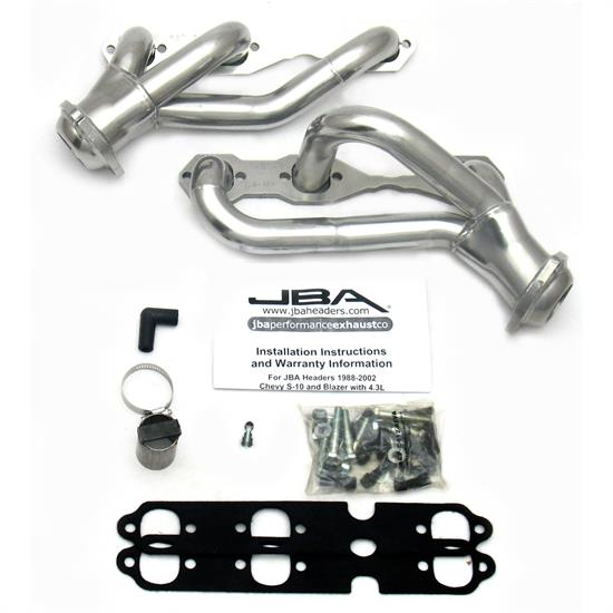 JBA PerFormance Exhaust 1840S-4JS Shorty Header, SS, 88-95/02-03 S10